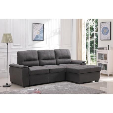 Sofá-cama Chaise-longue con Arcón New Farrar